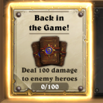 Hearthstone Back In The Game