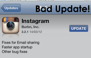 Bad Update