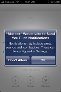 Mailbox Notification