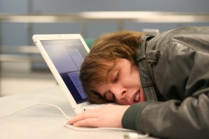 Tired Sleeping Developer